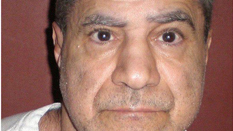 Sirhan Sirhan, pictured in a 2008 prison mugshot
