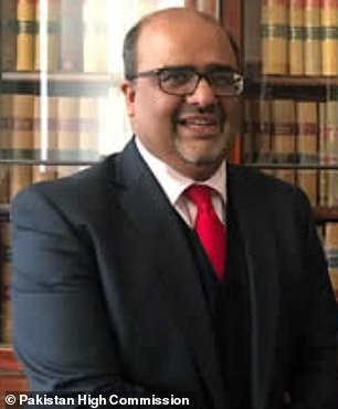 Mirza Shahzad Akbar, a top Pakistani politician who meets with UK government officials, lent support to sacked CNN reporter