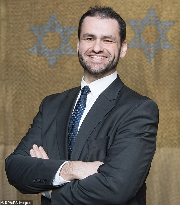 Zsolt Balla, 42,90 years after Jewish soldiers were expelled before the holocaust. He isis the German military's new chief rabbi and will be sworn in at a synagogue in Leipzig on Monday