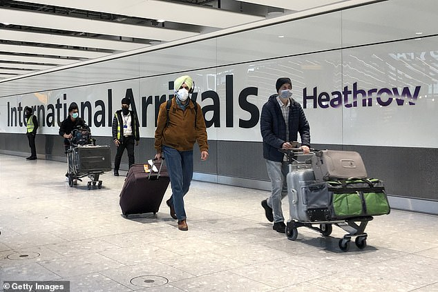 Ministers are today facing calls to relax foreign holiday rules after new data revealed fewer than one in 200 travellers from amber list countries tested positive for Covid