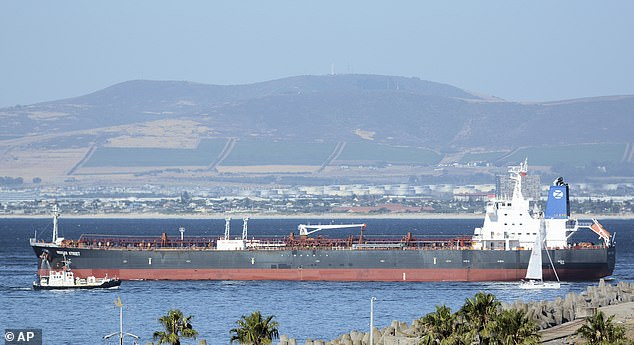 Mercer Street off Cape Town, South Africa. The oil tanker linked to an Israeli billionaire reportedly came under attack off the coast of Oman in the Arabian Sea
