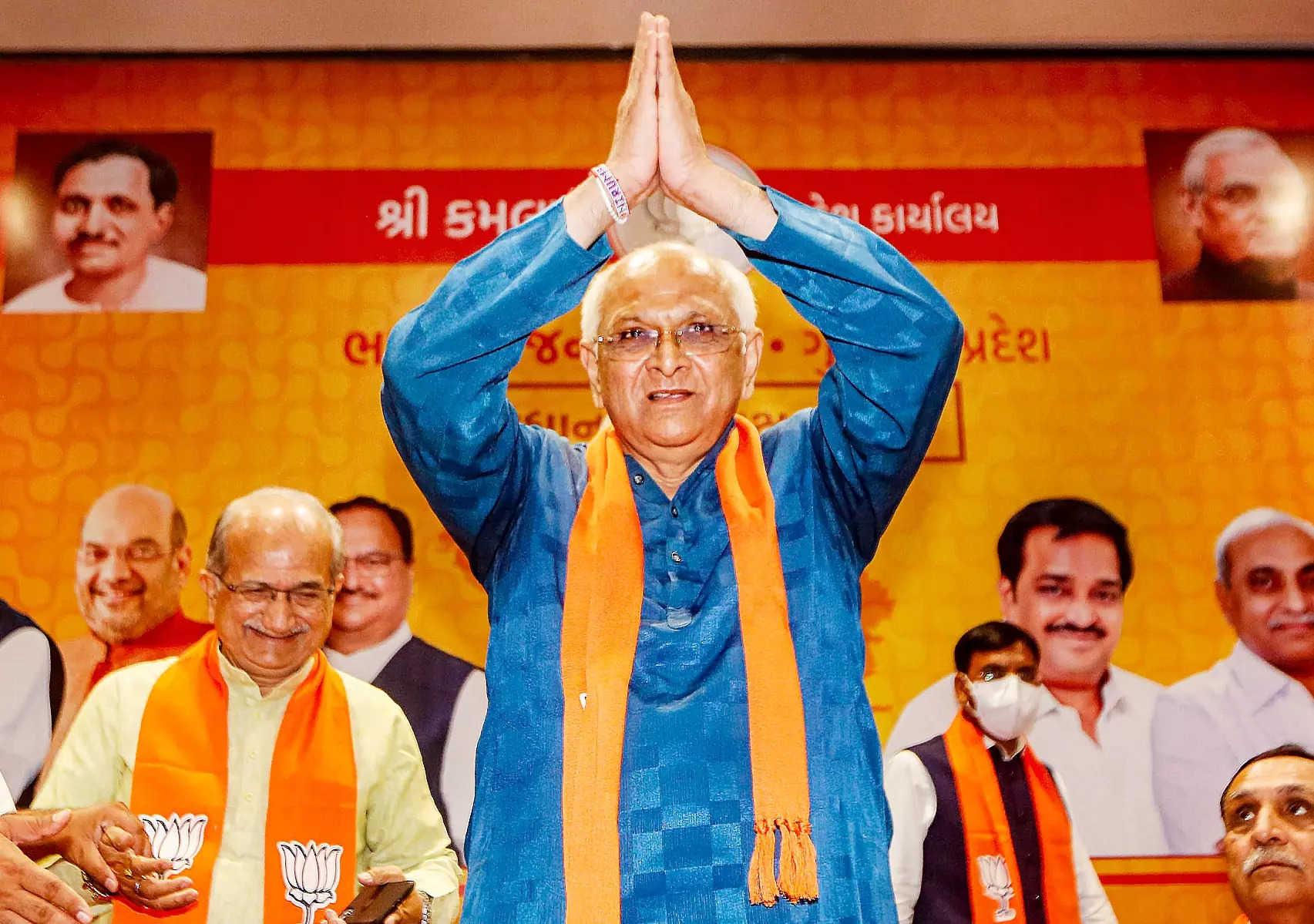 1. 'Wildcard' Bhupendra Patel is Gujarat's 17th CM