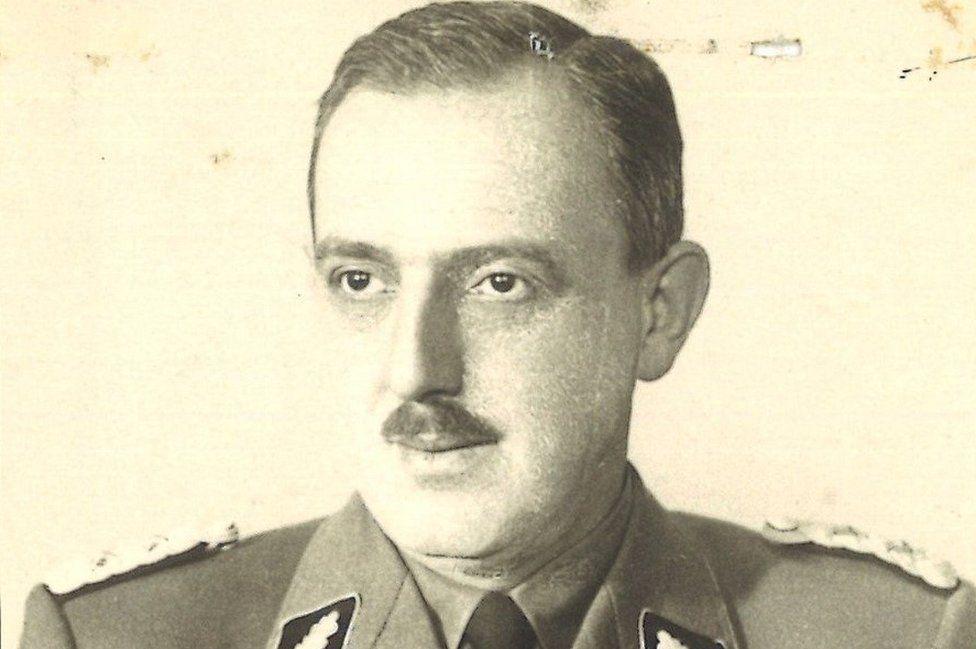 Franz Josef Huber archive pic