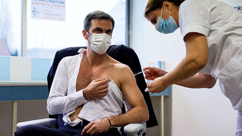 French Health Minister Olivier Veran